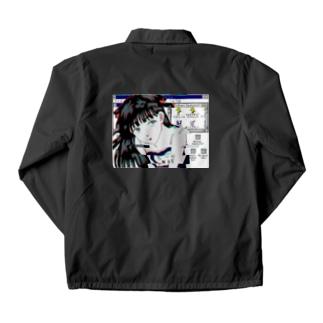 目薬澱粉 Coach Jacket