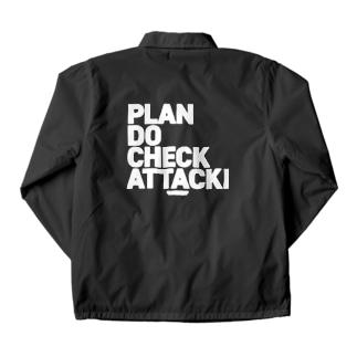 PDCA 黒 Coach Jacket