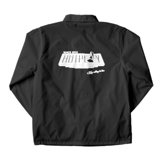 ~熱くあそべ~HOTPLAY(黒) Coach Jacket