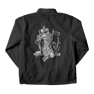 SH11NA WORKS - CHILL FROG Coach Jacket