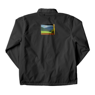 大谷工房のロフト壁 Otani studio's loft wall Coach Jacket
