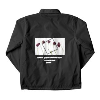 『枯れていく薔薇』  Coach jacket Coach Jacket