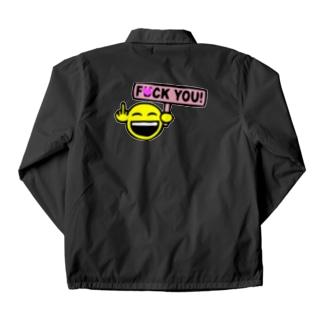 F●CK YOU Coach Jacket