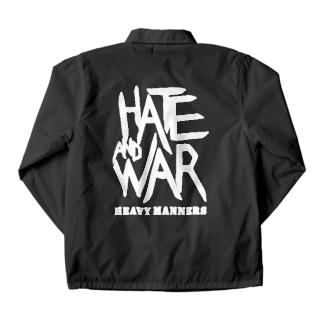 hate&war Coach Jacket