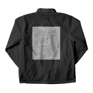 水草の漫画調1 Coach Jacket