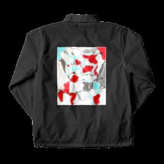 水草の金魚1 Coach Jacket