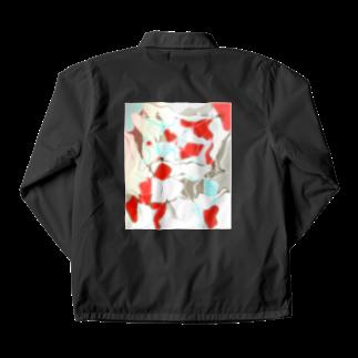 水草の金魚2 Coach Jacket