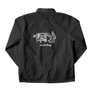 Shut up...のあおり運転根絶 01 Coach Jacket