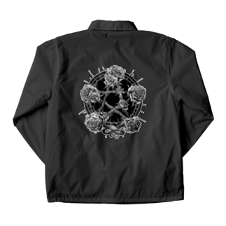 BLACKINK のPENTAGRAM Coach Jacketの裏面
