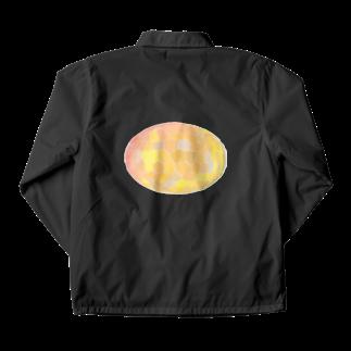 水草のオレンジ玉 Coach Jacket