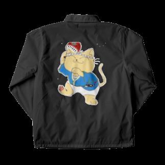 タマのちょびりげ❣️の踊り猫 Coach Jacket