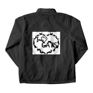 乃舞のI ♡ CATS Coach Jacket