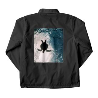 ウミガメ Coach Jacket