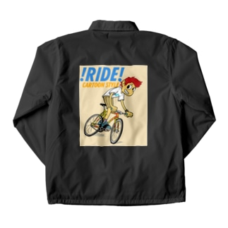 !RIDE! (CARTOON STYLE) Coach Jacket