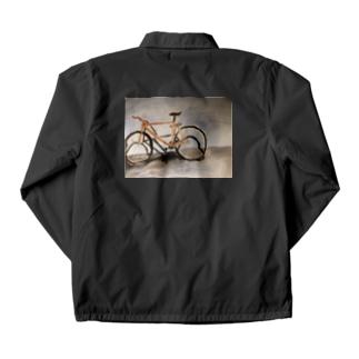 盗まれた自転車の遺影です Coach Jacket