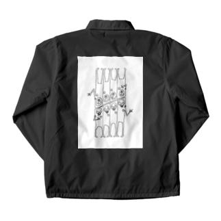 角刈りポケット Coach Jacket