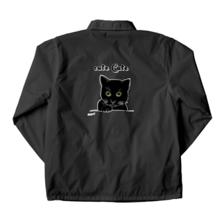 女黒猫 Coach Jacket