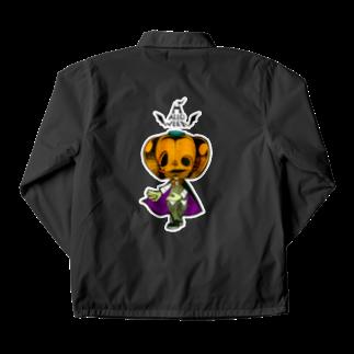 烏丸斗樹のハロウィンのかぼちゃくん。 Coach Jacket