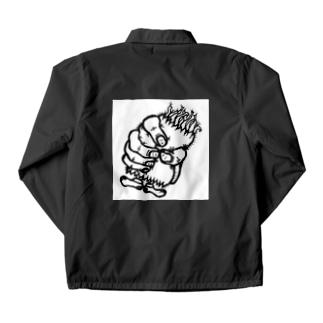 KUBISHIMEくんブラック Coach Jacket