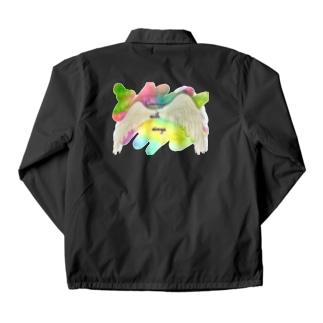 勇気を翼に★天使の羽★癒しカラー Coach Jacket