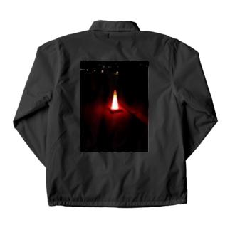 発光カラーコーン Coach Jacket