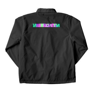 いきるのにむいてない purple Coach Jacket