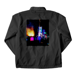 Neon Coach Jacket