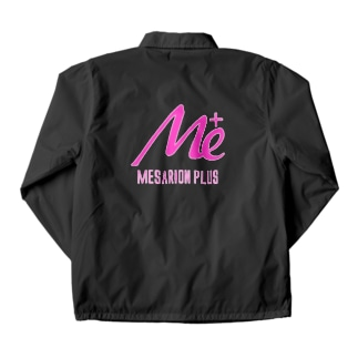 MESARION+ロゴ 文字切り抜きVer(ピンク) Coach Jacket