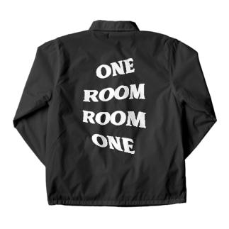 One Room(white) Coach Jacket