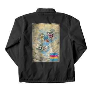 妖精に召される魚 Coach Jacket