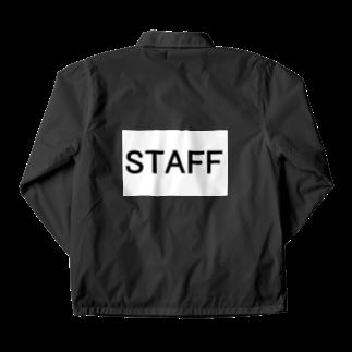 応援歌楽譜スタジアムのスタッフ STAFF が着用するやつ Coach Jacket