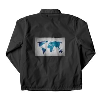 氷と水の世界地図 Coach Jacket