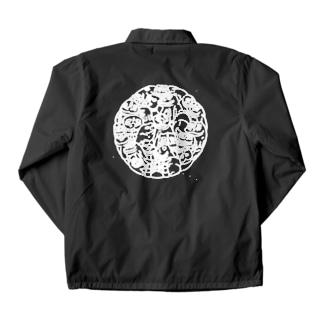肥前狛犬『HZNKMIN』コーチジャケット Coach Jacket