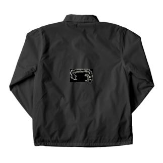 素人の描くゾンビドラゴン Coach Jacket