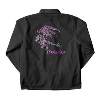 ドラゴンⅦ(紫色) Coach Jacket