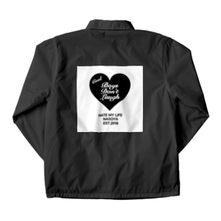 COOI BOYS DON'T LAUGH Coach Jacket