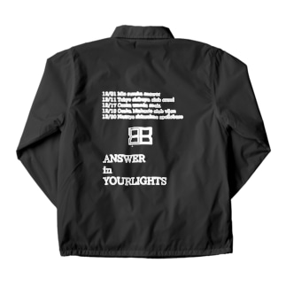 ANSWER in YOUR LIGHTS Coach Jacket