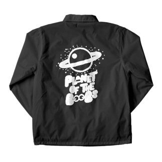 Planet of the boobs Coach Jacket