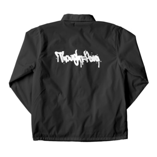 THOUGHTPARA STREET WHITELOGO Coach Jacket