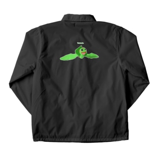 ウミガメアカミミガメ 遊泳 Coach Jacket