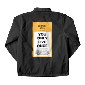 You Only Live Once Coach Jacket