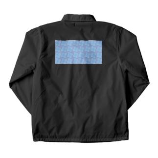 淡虹_A_長 Coach Jacket