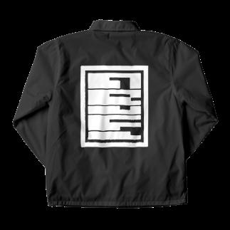 ARuFaの公式グッズ屋さんのARuFaデザインロゴ Coach Jacketの裏面