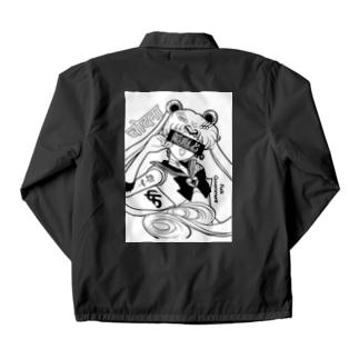 Usagi girl is Hiddener Coach Jacket