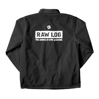 RAW LOG Coach Jacket