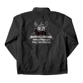 もふり書房幻のロゴ Coach Jacket