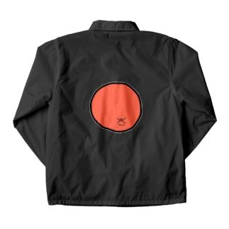 スーパーアンマン オレンジ Coach Jacket