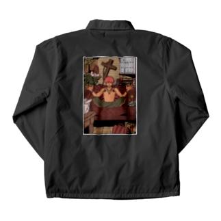 狭部屋A/カラー Coach Jacket