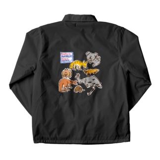 オーストラリアアニマル(500円募金) Coach Jacket
