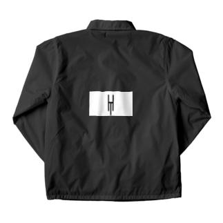 Tsubara Hayashi Official Logo 【White】 Coach Jacket